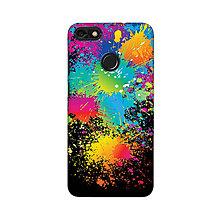 Na mobil - Kryt s motívom vyliatych farieb pre Apple, Huawei, Samsung - 9718431_