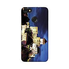 Na mobil - Kryt s motívom večerného Trenčianskeho hradu pre Apple, Huawei, Samsung - 9718590_