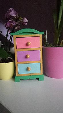 Krabičky - Šperkovnica Sarah Lynn - 9717655_