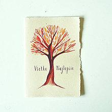 Papiernictvo - Pohľadnica - ,,strom,, - 9717774_