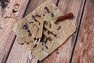 Suroviny - Pečatný vosk - Bronzový - 9717051_