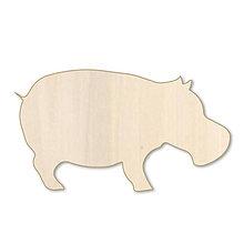Polotovary - Hrošík - drevený výrez - 9716882_