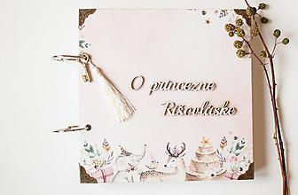 Papiernictvo - O princezne Rišovláske - 9717293_
