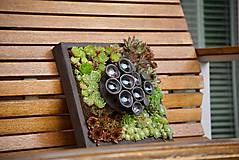 Socha - kvetináč ako obraz - 9718349_