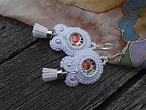 Náušnice - Mini folk náušnice - 9718626_