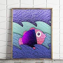 Grafika - Ako ryba vo vode na papieri (1) - 9718364_