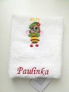 Textil - včielka - 9720649_