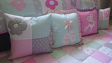 Úžitkový textil - Patchworková súprava - Chiara - 9723214_