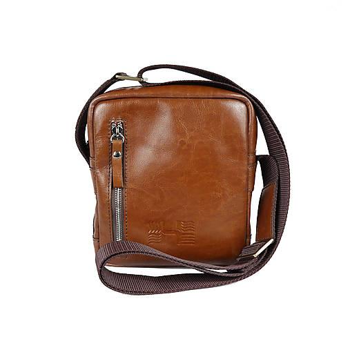 750e872c5 Kožená taška cez rameno