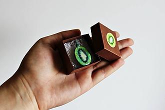 Náhrdelníky - Zelené kiwi - 9721827_