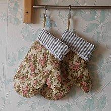 Úžitkový textil - Chňapka*Ruže* - 9721047_