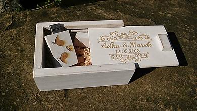 Krabičky - USB 16G s krabičkou provensál - 9722579_