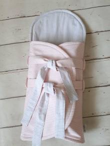 Textil - NOVINKA : Zavinovačka s istiacou vložkou  a zipsom - 9721786_
