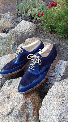 Obuv - Slovenský výrobok ručne ušité topánky - 9723199_