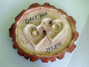 Prstene - vintage svadba/vankúšik pod svadobné prstene XXIV - 9720721_