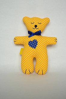 Hračky - #Macko, hračka (Žltá) - 9721879_