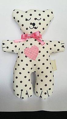 Hračky - #Macko, hračka (Ružová) - 9722036_