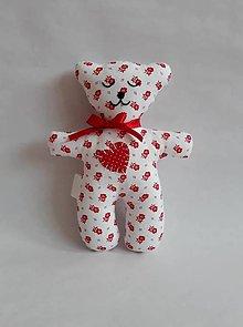 Hračky - #Macko, hračka (Červená) - 9723034_