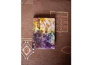 Papiernictvo - zápisník žltohnedý - 9720477_