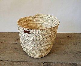 Košíky - Palmový košík - Classic - 9722645_