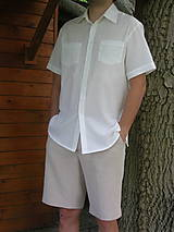 Pánska košeľa z gázoviny
