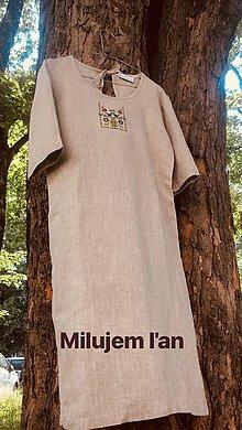Šaty - Letné naturálne šaty 2 - 9721720_