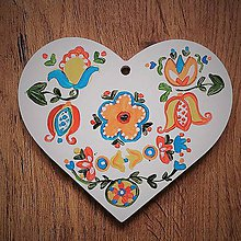 Kresby - Srdiečko maľované 4 - 9721796_