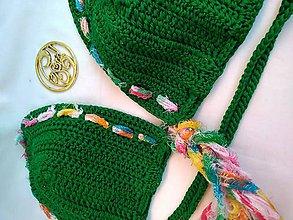 Bielizeň/Plavky - háčkované plavky - v BOHO style I - 9721793_