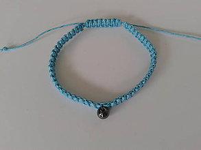 Náramky - Modrý ochranný náramok - vodnár - 9721424_