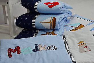 Textil - Setík pre námorníka - 9721952_