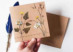 Papiernictvo - Pozdrav láskou vyšitý - 9721539_