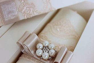 Svietidlá a sviečky - Sviečka na krst biela káva. - 9722415_