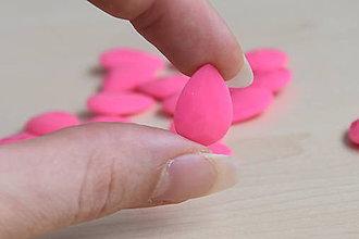 Komponenty - Kabošon akryl neon pink 13x18mm, 0.20€/ks - 9720866_