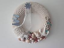 Dekorácie - Veniec s vonou mora - 9724226_