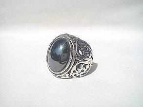 Prstene - Prsteň - Hematit - 9724056_