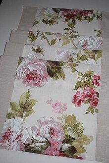 Úžitkový textil - BĚHOUN  ...květy - 9724933_