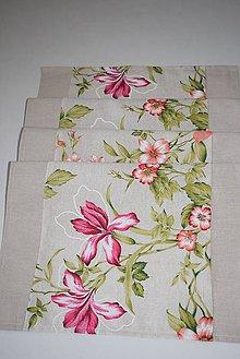 Úžitkový textil - BĚHOUN  ...květy - 9724936_