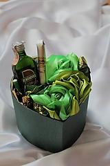 Dekorácie - Sladký saténový box