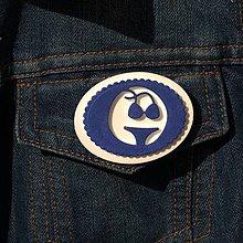 Odznaky/Brošne - Brošňa modré Plavky - 9724519_