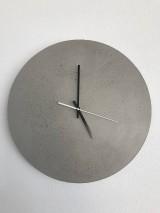 Hodiny - Betónové hodiny 40 clear verzia 2 - 9725734_