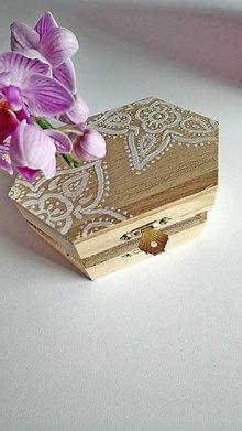 Krabičky - Šperkovnica Sadie - 9724113_