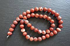 Minerály - Jaspis červený I 8mm - 9725272_