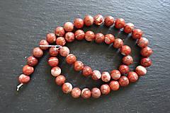 Minerály - Jaspis červený I 8mm - 9725281_