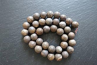Minerály - Bronzit matný 10mm - 9725642_