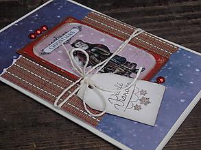 Papiernictvo - ...pohľadnica vianočná... - 9724971_