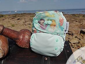 Detské doplnky - Mermaid - Kapsovka s Krídelkami PLUS (veľ. S-M-L) + vkladačka - 9725868_