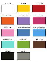 Dekorácie - Nálepky na stenu - Trojuholníky 5 x 5 cm - 88 ks (Azúrovo modrá) - 9723744_