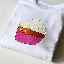 Detské oblečenie - Body muffin - 9728203_