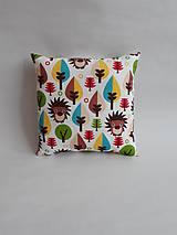 Textil - Vankúšik - mini - ježko - 9728129_