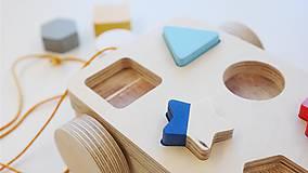 Hračky - drevené auto Kárička - 9726018_
